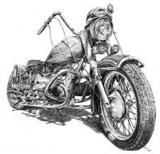 Motorka - veterán