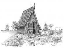 chata, chaloupka, domeček, pohádková chata