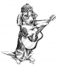Beagle hudebník