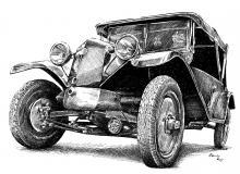 Tatra 12 - rok výroby 1927