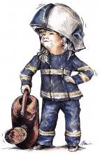 Mladá hasička