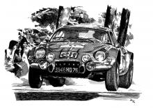 Renault Alpine 110 A
