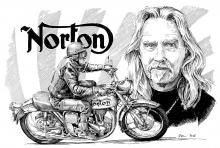 Norton - narozeninový dárek