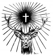 Svatý Hubert - jelen