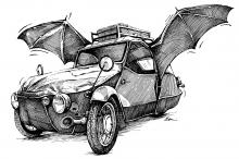 Velorex - netopýr
