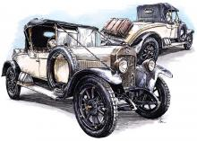 1924 Laurin & Klement 100 roadster