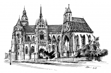 Dóm svätej Alžbety a Kaplnka sv. Michala, Košice, Slovensko