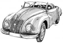 Wartburg IFA F9 Cabriolet