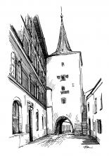 Slaný - Velvarská brána