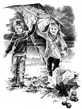 Děti - podzim