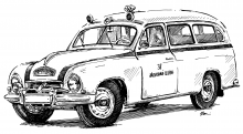 Škoda 1201 Ambulance