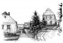 Moravské Budějovice - fara